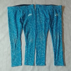 🌈 2 Pairs Nike Leggings